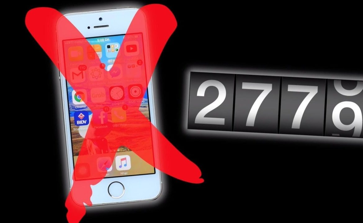 residing with out a smartphone for two779 days