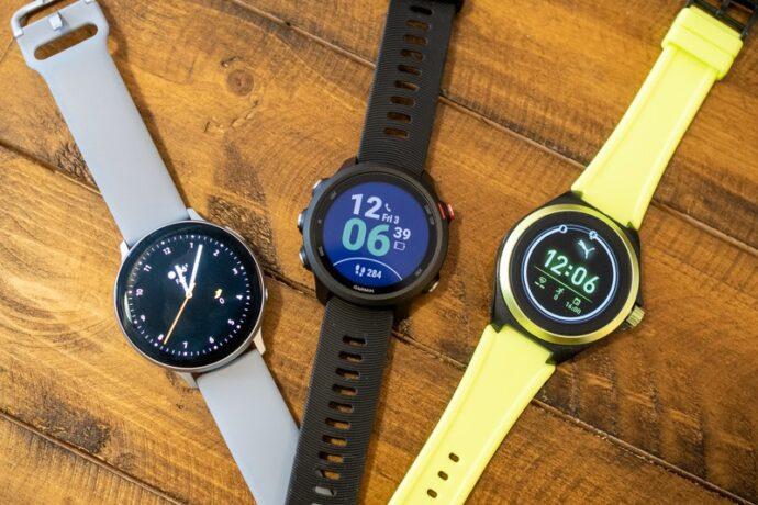 galaxy watch active 2 garmin forerunner 245 puma smartwatch